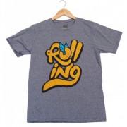 Camiseta Rolling Roll Cinza (GG - XG)